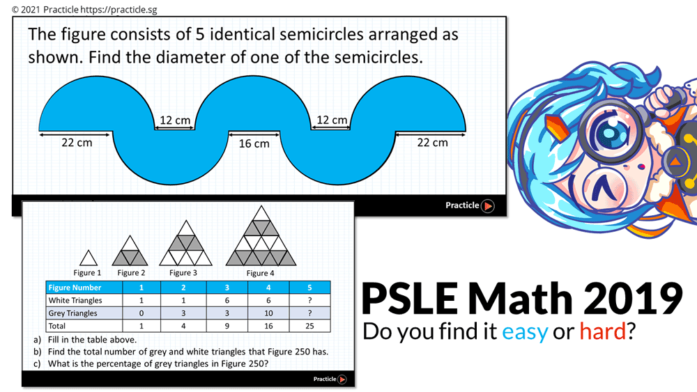 PSLE Math 2019 questions preview