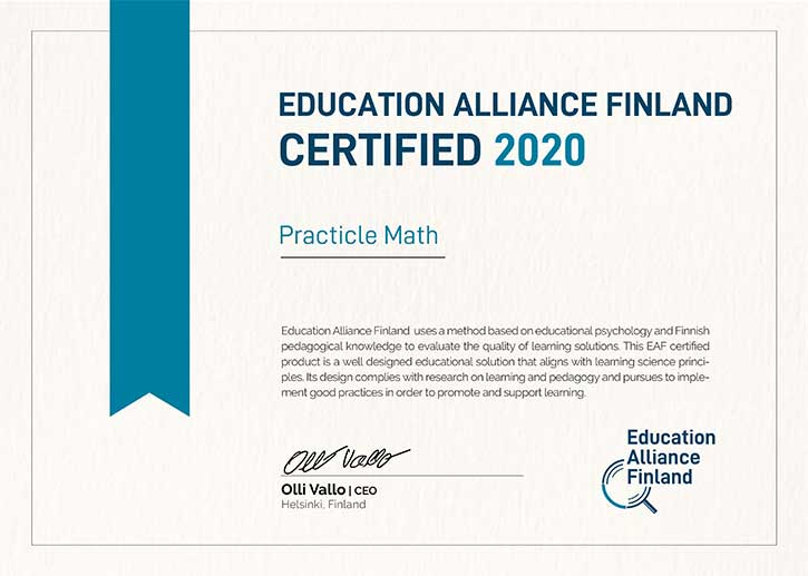 Education Alliance Finland Certified